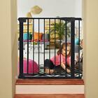 Indoor Home Baby Gate Security Dog Pet Door Fence Walk Thru Safety Tall Toddler
