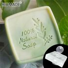 Acrylic Soap Stamp Natural Letter Transparent For Making Soaps