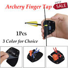 1X Archery Finger Tab Leather RIGHT HAND Hunting Shooting Bow Finger Protection