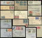 FRANCE COLONIES AFRICA CAMEROON COVERS + WW2 CENSORED AIRMAIL etc..PRICED SINGLY