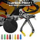 Carbon Fiber Brake Clutch Lever Guard Protector for YAMAHA YZF R6 YZFR6 YZF600
