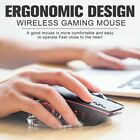 Wireless mouse mute comfortable rechargeable gaming mouse with led backlight