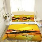 3D Yellow Painting ZHUA1579 Bed Pillowcases Quilt Duvet Cover Set Queen King Zoe
