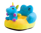 Baby Gift Sofa Support Seat Cover Plush Chair Learning To Sit Comfortable Toddle