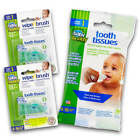 Brilliant Bundle - Tooth Tissues Xylitol Wipes  Wipe N Brush Silicone Brushes