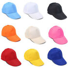 1pc Unisex Adjustable Baseball Caps Solid Color Hip Hop Hats Outdoor Casual Hats