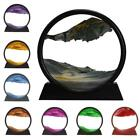 Moving Sand Art Picture Round Glass 3D Deep Sea Sandscape Display Motion in E5C0