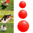 Indestructible Rubber Ball Pet Dog Toy Training Bite Chew Toy w Fetch Y3T5