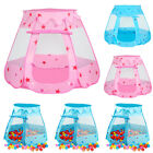 Portable Indoor Kids Baby Children Game Play Toys Tent Ocean Ball Pit Pool Plays