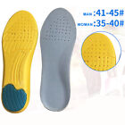 Men Women Gel Orthotic Insoles Sport Gym Inner Soles Cushion Heel Arch Support