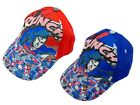 Boys Superman Baseball Caps Two Colours Ages 2-4 Years and 4-8 years