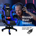 Gaming Chair Office Executive Computer Chairs Racing Seating Footrest Racer