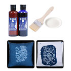 Jacquard Cyanotype Set Blueprint On Paper and Fabirc DIY Kit Picture Crafts