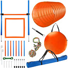 CHEERING PET Dog Agility Equipment, 28 Piece Dog Obstacle Course for Training an