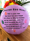 Easter Hunt personalised kids balloons 18inch