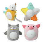 Stuffed Animal Plush Toys with Night Light Projector and Music