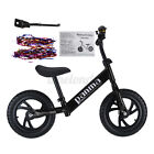Kids Balance Bike Walker Childs Training Bicycle Toy Non-Pedal w/Adujstable Seat