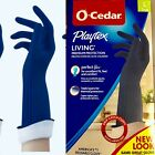 Playtex O-cedar Handsaver Living Gloves Yellow, Blue, Gray Larger, Medium, Small