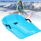Durable Snow Sled Large Kids Adults Downhill Sled Sledge Boat Flying Sleigh