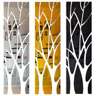 Extra Large Modern Acrylic Tree Mirror Wall Tile Stick Decal Home Decor Ornament