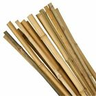 Bamboo Wooden Plant Sticks Wood Canes Garden Plants Support Flower Cane Packs