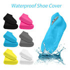Waterproof Reusable Shoes Covers Silicone Wear-Resistant Anti-Slip Rain Boots FH