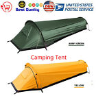 Outdoor Camping Tent Lightweight Sleeping Bag Tent Travel Backpacking Tent V9L7