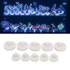 5Pc Acrylic Aquarium Coral Rack Bracket Base Coral Frag Stand Fish Tank Suppl ss