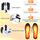 Warm Electric Heated Shoe Insole Outdoor Work Heater USB Foot Winter Warmer Pads