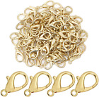 Aconnet 50 Pieces Lobster Claw Clasp 21X10Mm Curved Lobster Clasps For Jewelry M