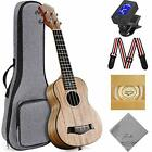 Ranch Concert Ukulele 23 inch Professional Learn to Play Beginner ukelele with 1