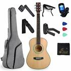 WINZZ 3/4 Spruce Acoustic Guitar for Beginners Students Kids with Advanced Kit R