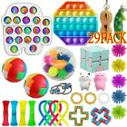 30 Pack Fidget Toys Set Sensory Tools Bundle Stress Relief Hand Kids Adults Toys
