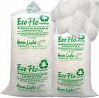 Ecoflo Biodegradable Loose Void Fill Packaging Packing Peanuts Chips 1cft - 60cf
