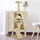 Large Multilevel Cat Tree Tower Cat Scratching Posts Climbing Activity Centre UK