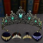 Bridal Party Crown Wedding Champagne Gold Queen Tiara 9 Colours Prom Pageant