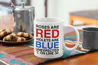 Software Engineer Funny Coffee Mug Roses Are Red Violets Are Blue Unexpected