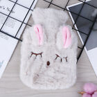 Cute PVC Relief Stress Pain Hot Water Bottle Bag Soft Reusable Hand WarmY*ss