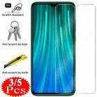 Tempered Glass Screen Protector For Xiaomi Redmi Note 9S 9 8 7 6 5 Pro 8A 7A 6A