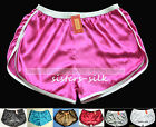 1 pc Mens Silk Boxer Sport Athletic Gym Jogging Football Active Shorts  S - 3XL