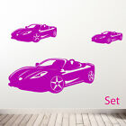 Car Wall Stickers, Sports car wall sticker