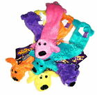 Multipet Unstuffed LOOFA STUFFING FREE Dog Squeaky Toy