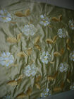 Embroided Royal pure silk curtain fabric-Miracle FLORAL