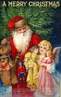 Christmas Santa Angel Doll Quilt Block Multi Sizes FrEE ShiPPinG WoRld WiDE