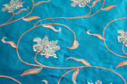 Embroided Royal pure silk curtain fabric-SHAMASH