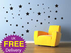 Wall Stickers Stars, wall decals, wall art, removable