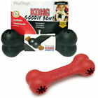 KONG Goodie Bone MEDIUM Rubber Dog Treat Dispenser Toy