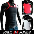 100%Cotton muscle Vest Men Slim Fit Sexy Stylish Tank Tops Sleeveless Shirt