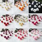 24PCS Silk flower head rose wedding Party decoration Table