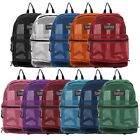Transport See Through Mesh Backpack Book School Bag
